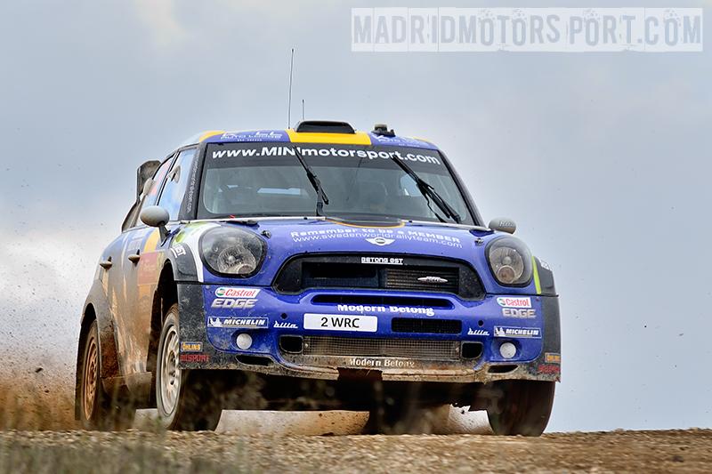 WRC Portugal 2012 Patrik-Sandell-y-Maria-Andersson_Mini-John-Cooper-Works-WRC