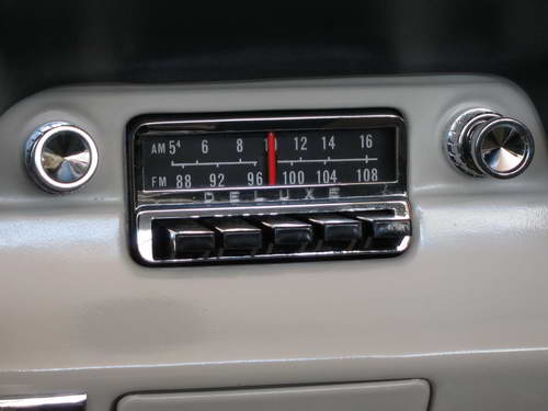 Were There Oem Am Fm Radios In 1965 Vintage Mustang Forums