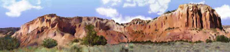 """The """"Abiquiu New Mexico"""" piece from the """"2006"""" collection"""