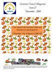 Issue 27 November 2008 Happy Thanksgiving