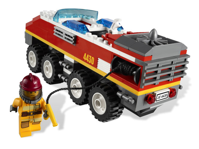 LEGO シティ フォレストファイヤートランスポーター 4430