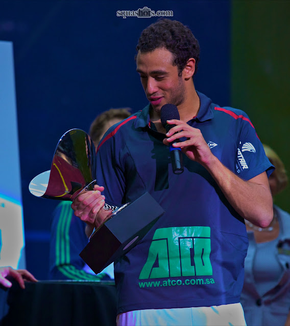 Ramy Ashour, winner