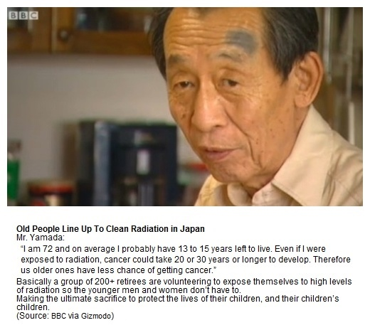 Japan Radiation : Old People Sacrifice