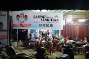 Hiburan Yanko Meriahkan Posko Pemenangan Berjargon Damai Peduli dan Merakyat di Kabupaten Nunukan