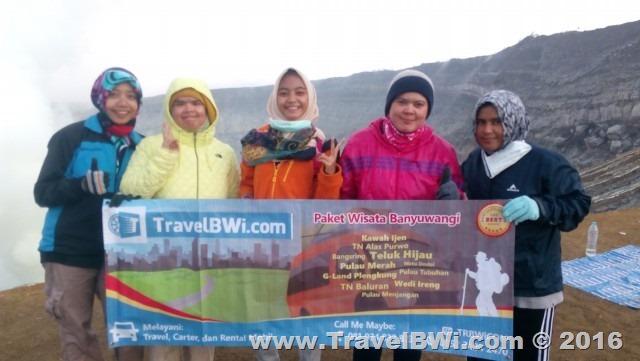 Paket Tour Wisata Travel BWi Banyuwangi - Puncak Kawah Ijen