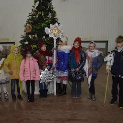 Театрализованный праздник для детей «Рождественская звезда» Кировский СДК