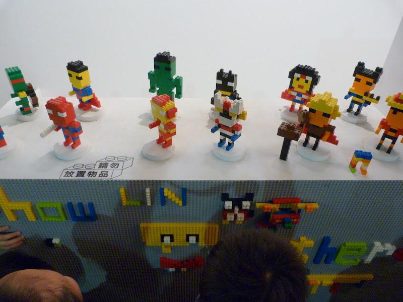 Taipei. Songshan Cultural and Creative Park. Nathan Sawaya. LEGO - P1230065.JPG