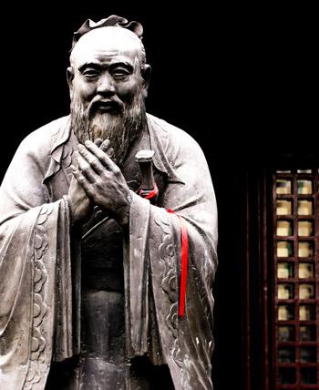 Confucius Says, Confucius