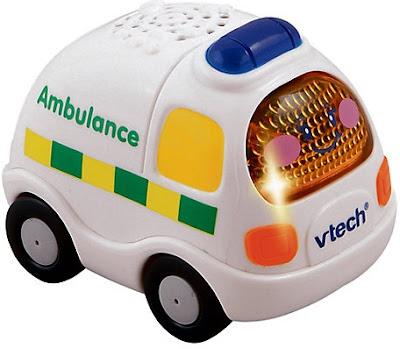 Hình ảnh Xe cứu thương phát nhạc Vtech