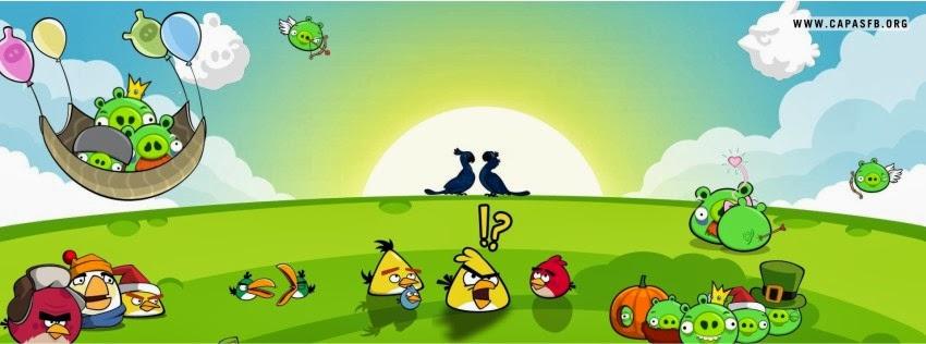 Capas para Facebook Angry Birds