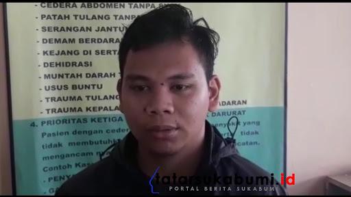 Adik Korban Rama warga Cisaat Sukabumi / Foto : Isep Panji (10/1/2019)
