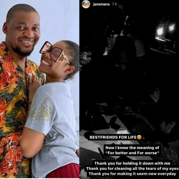"""""""Now I know the meaning of for better and for worse""""- Janemena writes as she shares video from the night her husband proposed to her"""