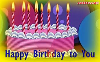 Hình ảnh chúc mừng sinh nhật với ngọn nến lung linh