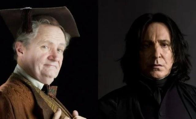 Harry Potter: Quem era o melhor professor de poções, Slughorn ou Snape ?