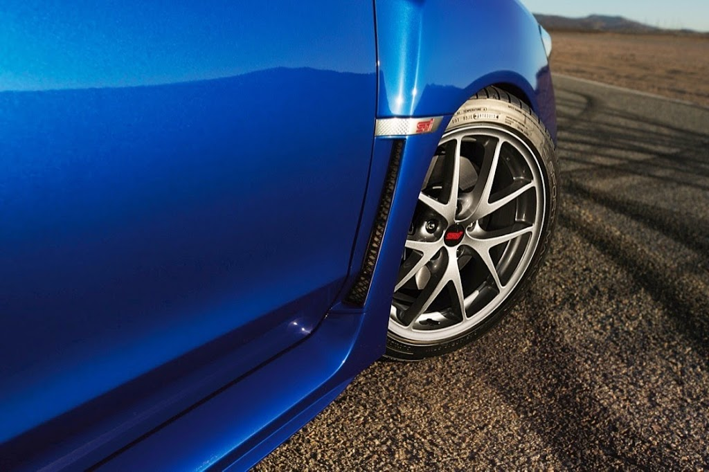 2015 Subaru WRX STI Launch Edition wheel
