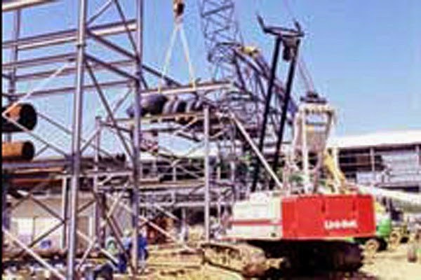 Systems Contracting Pipe Rack Structural Steel Erection
