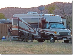 Lucerne Campground, Flaming Gorge -- Rig looking like ours