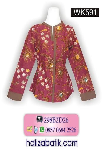 model batik modern, batik wanita, batik murah