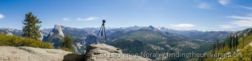 Vanguard VEO tripod panoramic Yosemite 2