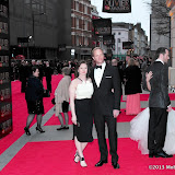 WWW.ENTSIMAGES.COM -   Dervla Kirwan; Rupert Penry-Jones     at      The Olivier Awards at Royal Opera House, Covent Garden, London, April 28th 2013                                               Photo Mobis Photos/OIC 0203 174 1069