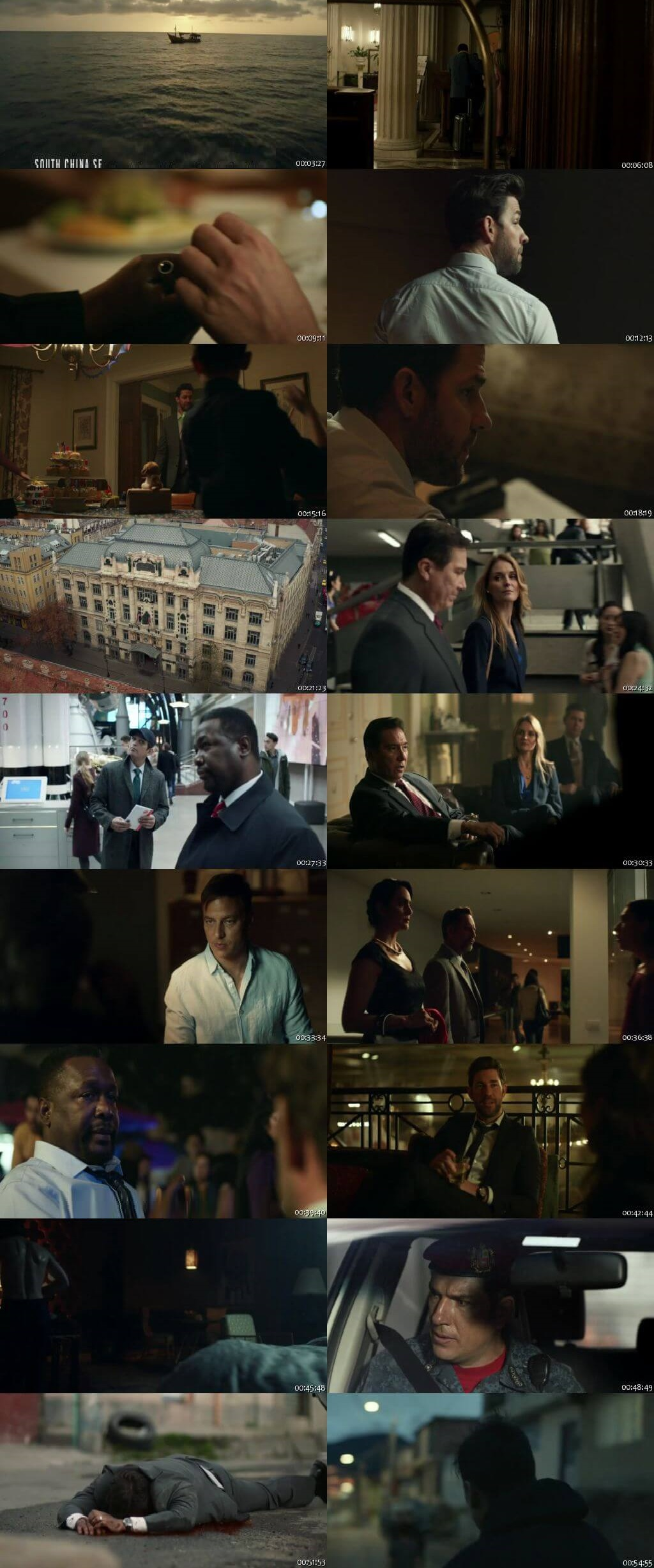 Screenshots Of Hindi Dubbed Show Tom Clancy's Jack Ryan 2019 Season 02 Complete All Episodes 300MB 720P HD