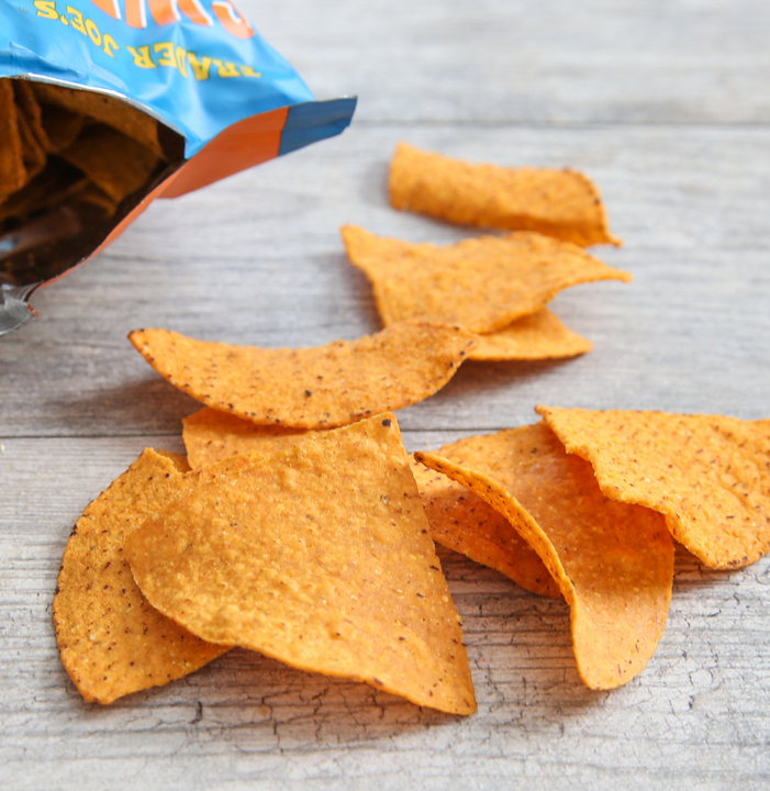 close-up photo of Sweet Potato Tortilla Chips