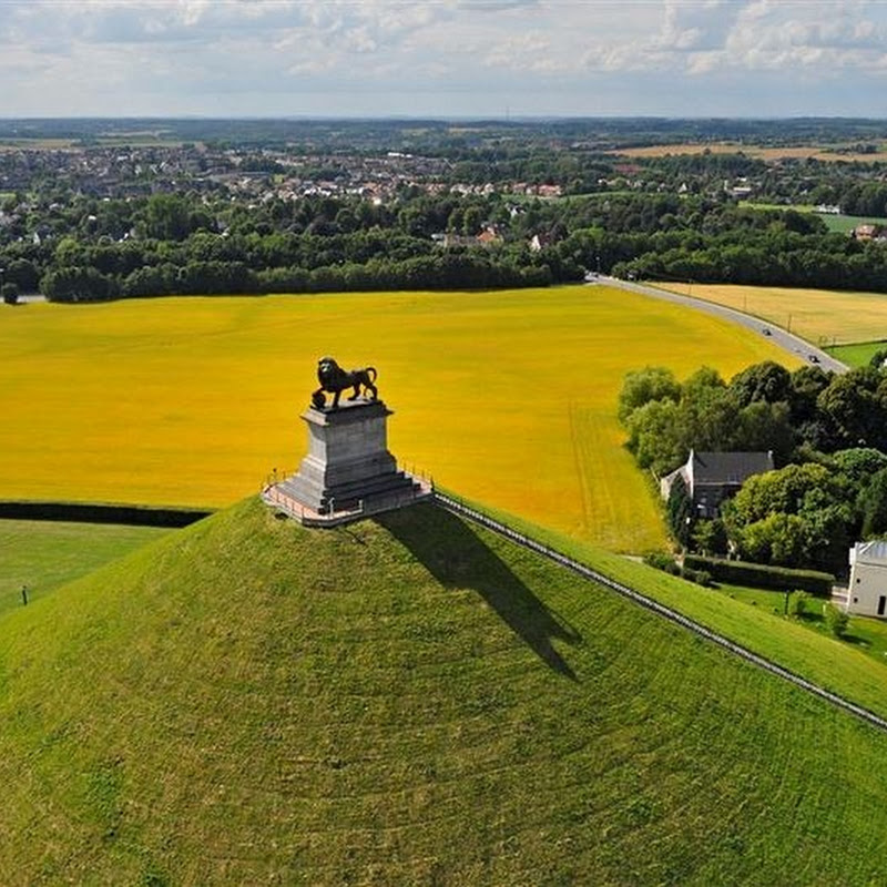 The Lion's Mound at The Battlefield of Waterloo