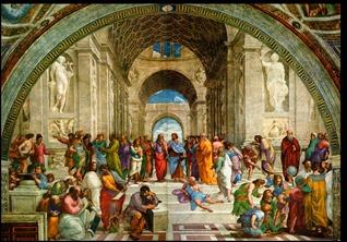A escola de Atenas Rafael filosofia