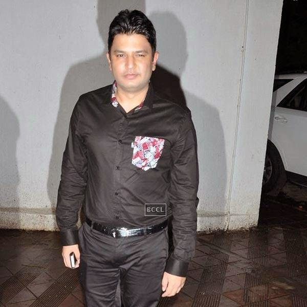 Bhushan Kumar at the wrap-party of Bollywood movie Mary Kom, held at Sanjay Leela Bhansali's residence on July 26, 2014.(Pic: Viral Bhayani)