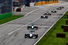 Felipe Massa, Williams FW36 Mercedes leads