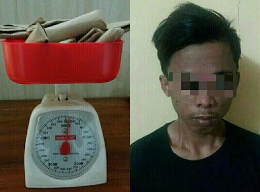 Miliki Ganja, Warga Bogor Ditangkap di Sukabumi
