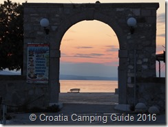 Croatia Camping Guide - Senj, sunset
