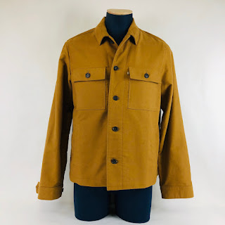 M-82 Brushed Cotton Shirt Jacket