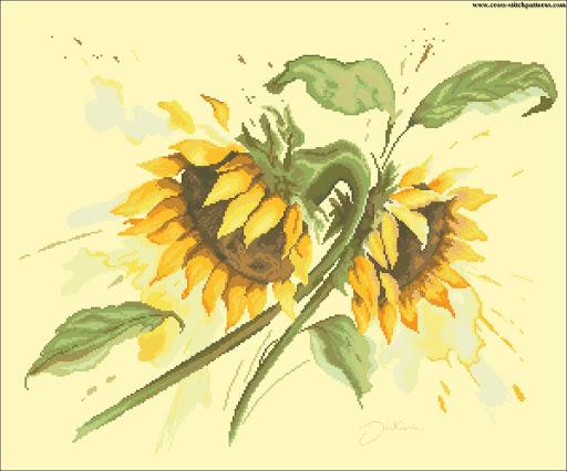 Sun flowers 5932 chart
