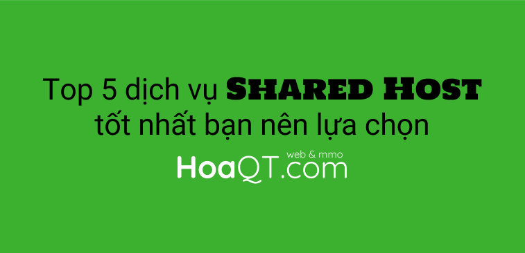 Hinh anh: Dich vu shared web hosting nao la tot nhat