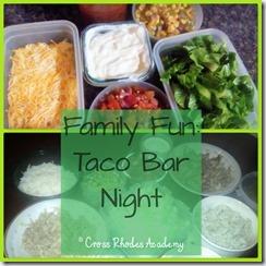 Taco Bar Night