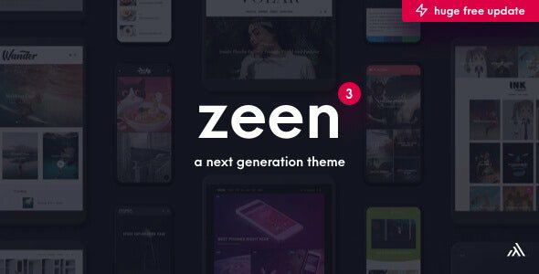 Zeen v3.1.0 – Next Generation Magazine WordPress