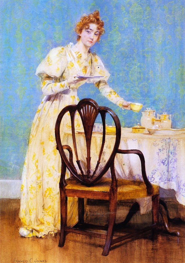 Francis Coates Jones - Tea Time