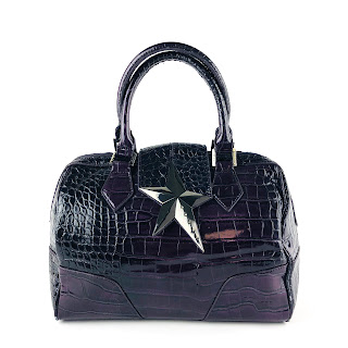 Thierry Mugler Purple Embossed Bag