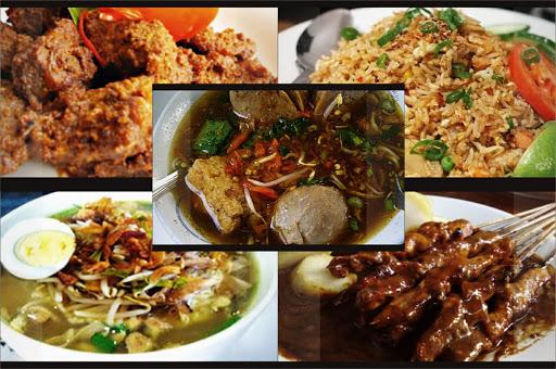 makanan khas Indonesia terkenal di dunia