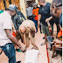 Gbosa: Checkout Moment Davido Prostrates For Uncle, Adekola Adeleke When He Got To His Hometown For PDP's Rally [WATCH]