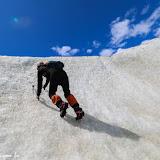 Me sentindo, hehehe!!!  Trekking no Glaciar Exploradores, Puerto Rio Tranquilo, Chile
