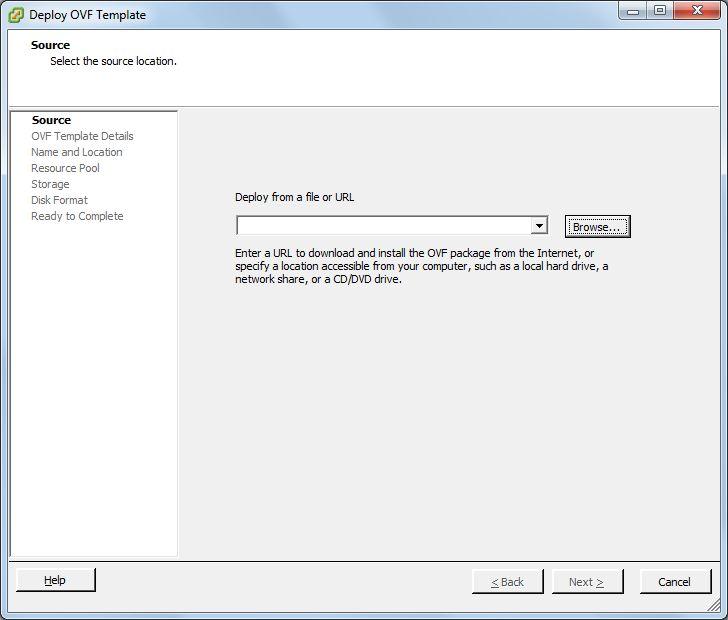 Importar o desplegar máquina virtual en fichero OVA o OVF a servidor VMware ESXi