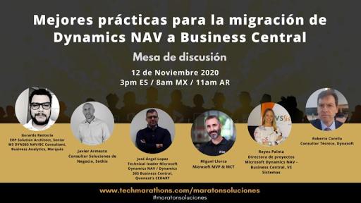 Migraciones de Dynamics NAV a Business Central