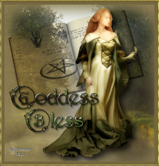 Wiccan In Green, Green Witches