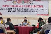 Polres Bengkayang Siapkan Langkah Pencegahan Aktivitas Penambangan Ilegal