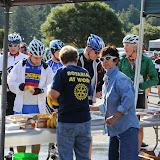 Rotarians at work