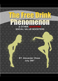 Cover of Alexander Chase's Book The Free Drink Phenomenon