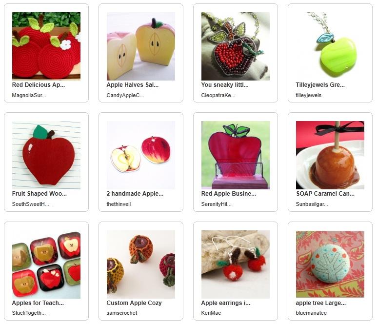 Handmade Apples for Teacher