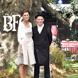 OIC - ENTSIMAGES.COM - Lucy Dahl and Mark Rylance at the UK premiere of THE BFG  in London  17th July 2016 Photo Mobis Photos/OIC 0203 174 1069